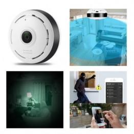 Wi-Fi IP панорамна Fish Eye камера 360 градуса обзор