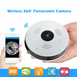 Panoramic Wi-Fi IP camera 180/360 degree