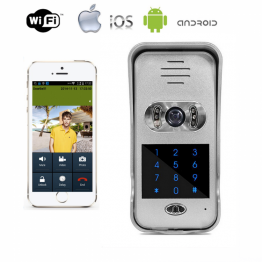 Wi-Fi / LAN IP camera video intercom  AWV06P-HD& access control&bell