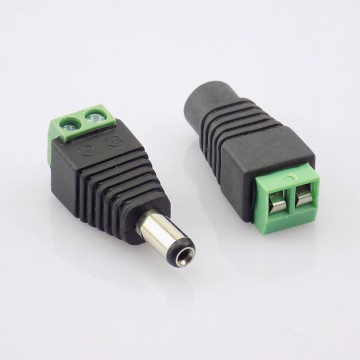 Power jack for CCTV camera/М