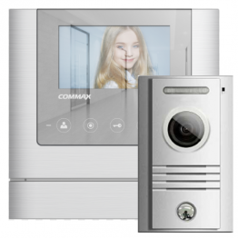 "4.3 ""color TFT LED video doorphone - set - AW-03/43M/40K"