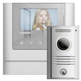 4,3'' цветен TFT LED видеодомофон -комплект - AW-03/43M/40K