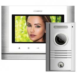 7'' цветен TFT LED видеодомофон -комплект - AW-05/70M/40K