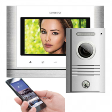 "7 ""color TFT LED Touch video doorphone - set - AW-07/70MX/40K"