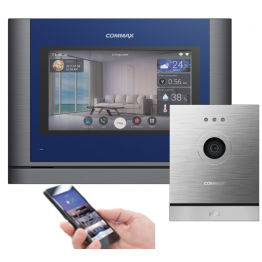 "10 ""color TFT LED Touch IP video doorphone - set - AW-09/1020M/D20M"